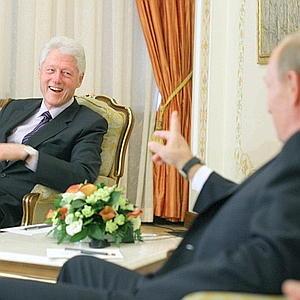 Bill Clinton and Putin