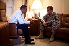 Obama and Mcchrystal