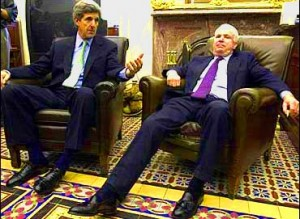 John Kerry and John McCain