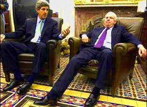 John Kerry and John McCain