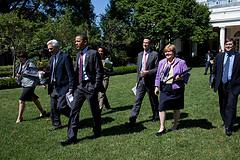 Obama and economic team