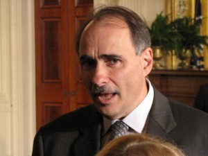 David Axelrod in the East Room
