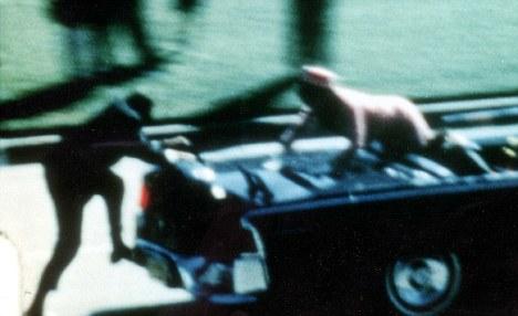 Secret Service agent Kennedy limousine