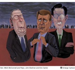 Mcconnell boehner cantor cartoon
