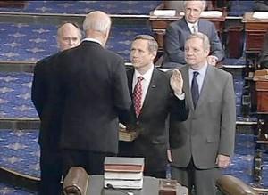 Biden Swears in Mark Kirk