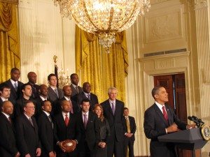 Obama and the Los Angeles Lakers