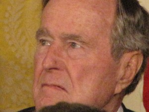 George H.W. Bush. Photo by Keith Koffler