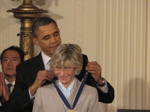 Jean Kennedy Smith receives her Medal of Freedom