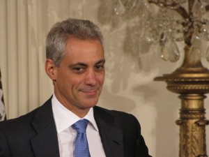 Rahm Emanuel in the East Room