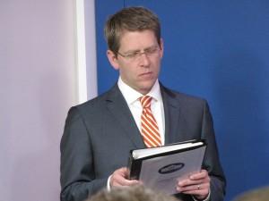 Jay Carney reading