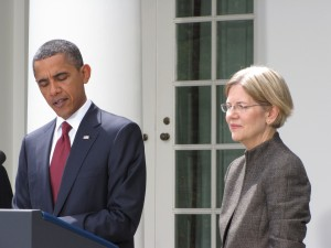 Elizabeth Warren and Obama