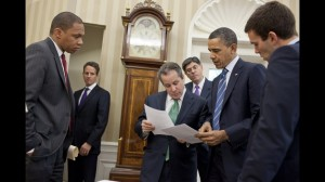 Obama reviews budget speech