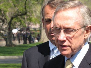 Reid and Boehner at the White House