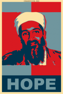 Bin Laden Hope poster