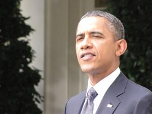 Obama in the Rose Garden