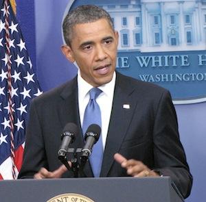 Obama briefing room
