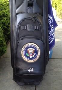 Obama golf bag