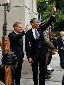 Obama Tusk