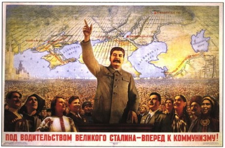 Stalin forward poster