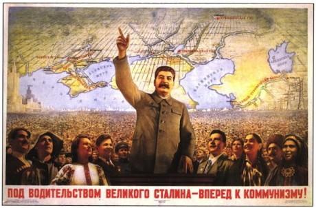Stalin forward poster