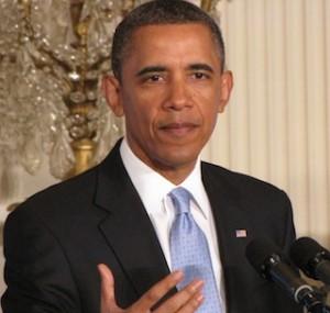 Obama - East Room