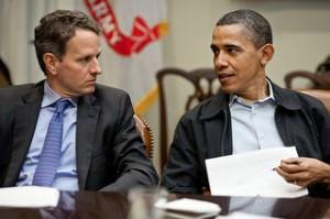 Obama Geithner
