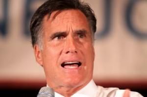 Romney strange face