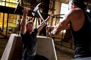 """Sly Stallone in the upcoming """"Bullet to the Head."""""""