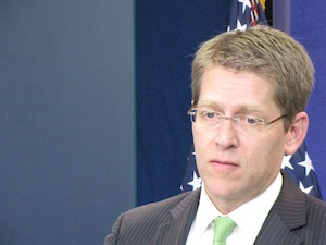 Carney at briefing