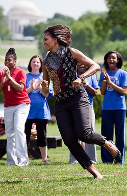Michelle Let's Move