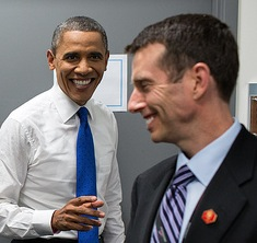 Obama and Plouffe