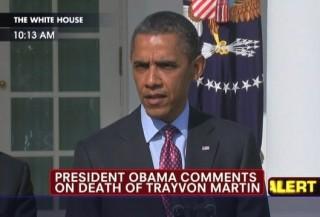 Obama Trayvon Martin