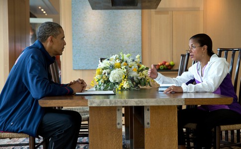 Obama and Susan Rice
