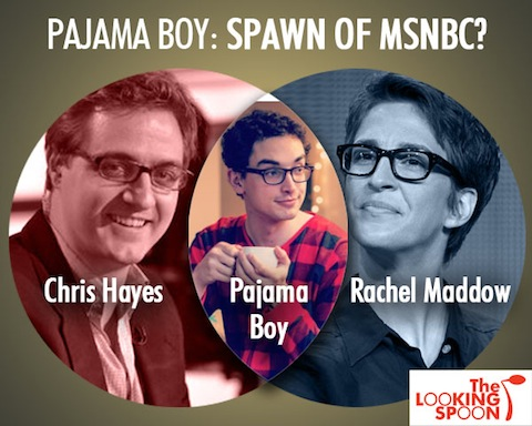 Pajama Boy Maddow