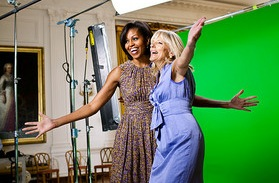 Jill Biden and Michelle