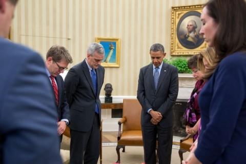 Obama moment silence