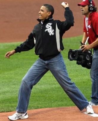 Obama mompants