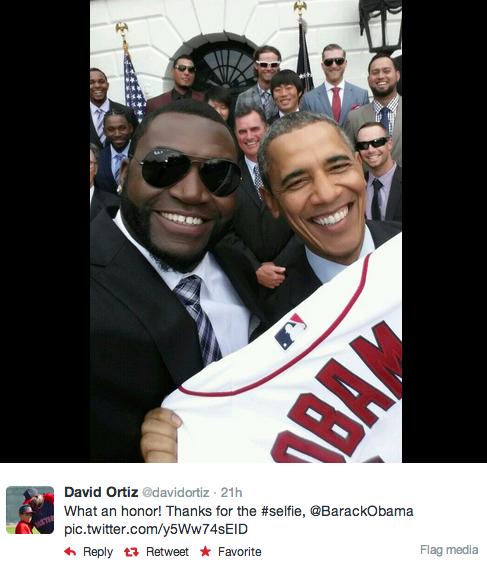 Obama Ortiz selfie