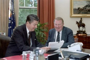 Reagan and Meese