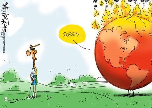 Lester - Obama golf