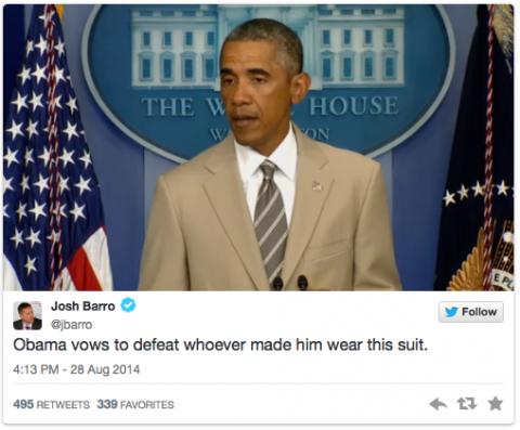 Obama tan suit 6