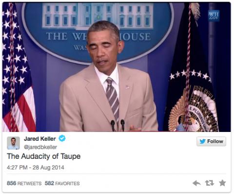 Obama tan suit 8