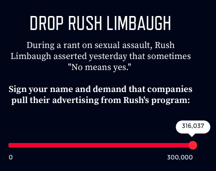 Limbaugh petition
