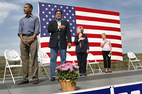 Obama harkin steak fry