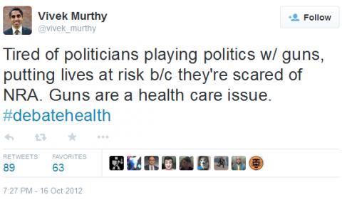 Murthy tweet