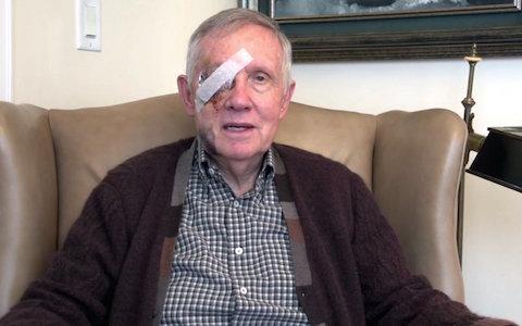 Harry Reid bandage