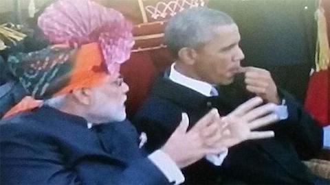 Obama gum India