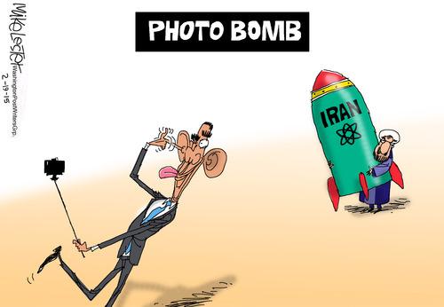 lester photobomb