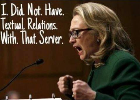 Hillary textual relations