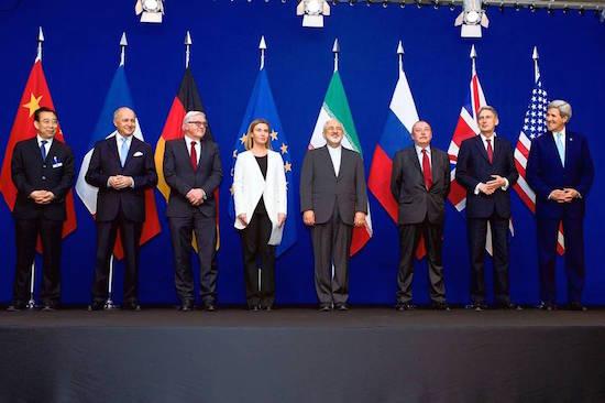 Lausanne negotiators